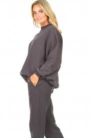 American Vintage |  Oversized sweater Ikatown | dark grey  | Picture 6