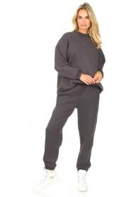 American Vintage |  Oversized sweater Ikatown | dark grey  | Picture 3