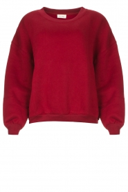 American Vintage |  Basic sweater Storm | red  | Picture 1