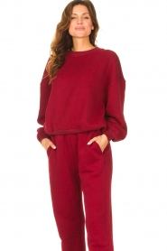 American Vintage |  Basic sweater Storm | red  | Picture 4