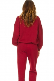 American Vintage |  Basic sweater Storm | red  | Picture 7