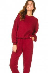 American Vintage |  Basic sweater Storm | red  | Picture 2