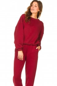 American Vintage |  Basic sweater Storm | red  | Picture 5