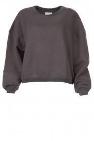 American Vintage |  Basic sweater Storm | dark grey  | Picture 1
