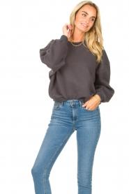 American Vintage |  Basic sweater Storm | dark grey  | Picture 4