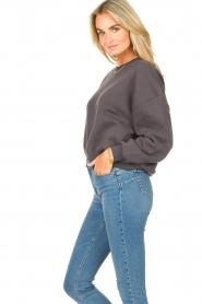 American Vintage |  Basic sweater Storm | dark grey  | Picture 6
