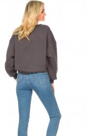 American Vintage |  Basic sweater Storm | dark grey  | Picture 7