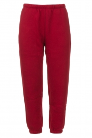 American Vintage |  Sweatpants Ikatown | red  | Picture 1