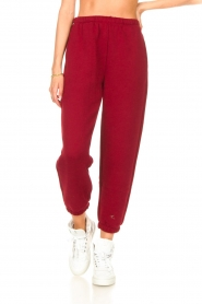 American Vintage |  Sweatpants Ikatown | red  | Picture 4
