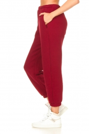 American Vintage |  Sweatpants Ikatown | red  | Picture 6