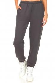 American Vintage |  Sweatpants Ikatown | dark grey  | Picture 5
