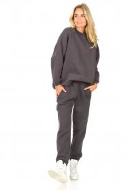American Vintage |  Sweatpants Ikatown | dark grey  | Picture 4