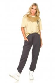 American Vintage |  Sweatpants Ikatown | dark grey  | Picture 3