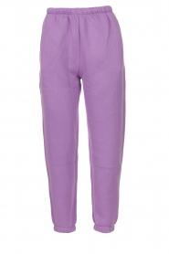American Vintage |  Sweatpants Ikatown | purple  | Picture 1