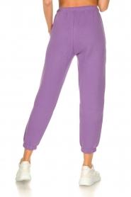 American Vintage |  Sweatpants Ikatown | purple  | Picture 6