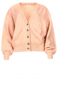 American Vintage |  Knitted cardigan Tidsburg | pink  | Picture 1