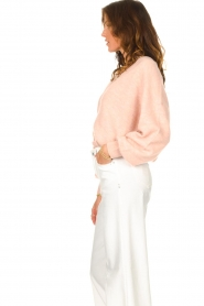 American Vintage |  Knitted cardigan Tidsburg | pink  | Picture 6