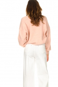 American Vintage |  Knitted cardigan Tidsburg | pink  | Picture 7
