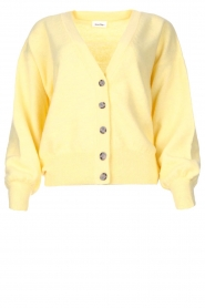 American Vintage |  Knitted cardigan Tidsburg | yellow  | Picture 1