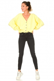 American Vintage |  Knitted cardigan Tidsburg | yellow  | Picture 3