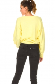 American Vintage |  Knitted cardigan Tidsburg | yellow  | Picture 8
