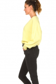 American Vintage |  Knitted cardigan Tidsburg | yellow  | Picture 7