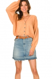 American Vintage |  Knitted cardigan Tidsburg | nude   | Picture 5