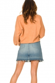 American Vintage |  Knitted cardigan Tidsburg | nude   | Picture 7