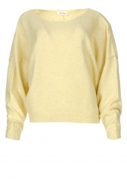 American Vintage |  Knitted sweater Damsville | light yellow  | Picture 1