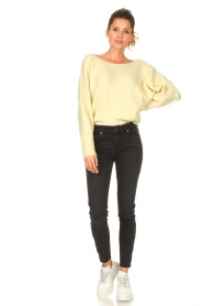 American Vintage |  Knitted sweater Damsville | light yellow  | Picture 3