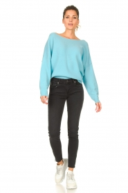 American Vintage |  Knitted sweater Damsville | blue  | Picture 3