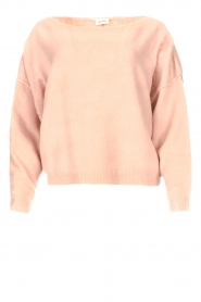 American Vintage |  Knitted sweater Damsville | pink  | Picture 1