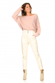 American Vintage |  Knitted sweater Damsville | pink  | Picture 3