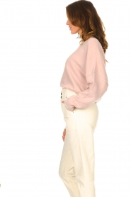 American Vintage |  Knitted sweater Damsville | pink  | Picture 7