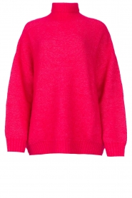 American Vintage |  Oversized knitted sweater Zabidoo | fuchsia  | Picture 1