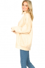 American Vintage |  Oversized knitted sweater Zabidoo | natural  | Picture 6