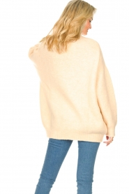 American Vintage |  Oversized knitted sweater Zabidoo | natural  | Picture 7