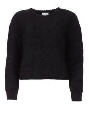 American Vintage    Knitted sweater Zabidoo   black    Picture 1
