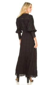 Copenhagen Muse |  Broderie maxi dress Ultra | black  | Picture 6