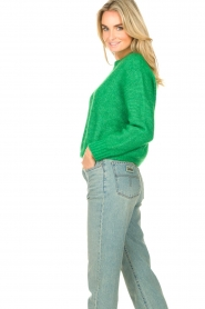 American Vintage |  Knitted sweater Zabidoo | bright green  | Picture 6