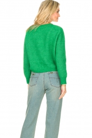 American Vintage |  Knitted sweater Zabidoo | bright green  | Picture 7