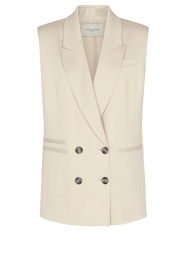 Copenhagen Muse |  Double breasted waistcoat Shine | natural   | Picture 1