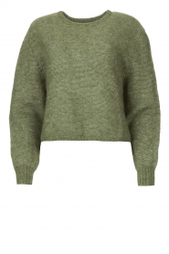 American Vintage |  Knitted sweater Zabidoo | green  | Picture 1