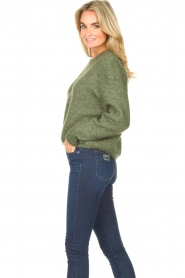 American Vintage |  Knitted sweater Zabidoo | green  | Picture 6