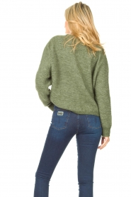 American Vintage |  Knitted sweater Zabidoo | green  | Picture 7