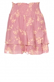 Second Female |  Skirt with floral print Mories | pink  | Picture 1