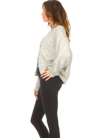 American Vintage |  Knitted cardigan Zabidoo | grey  | Picture 5