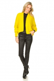 American Vintage |  Knitted cardigan East | yellow  | Picture 3
