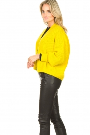 American Vintage |  Knitted cardigan East | yellow  | Picture 6