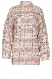 IRO |  Checkered bouclé jacket Mekkie | grey  | Picture 1